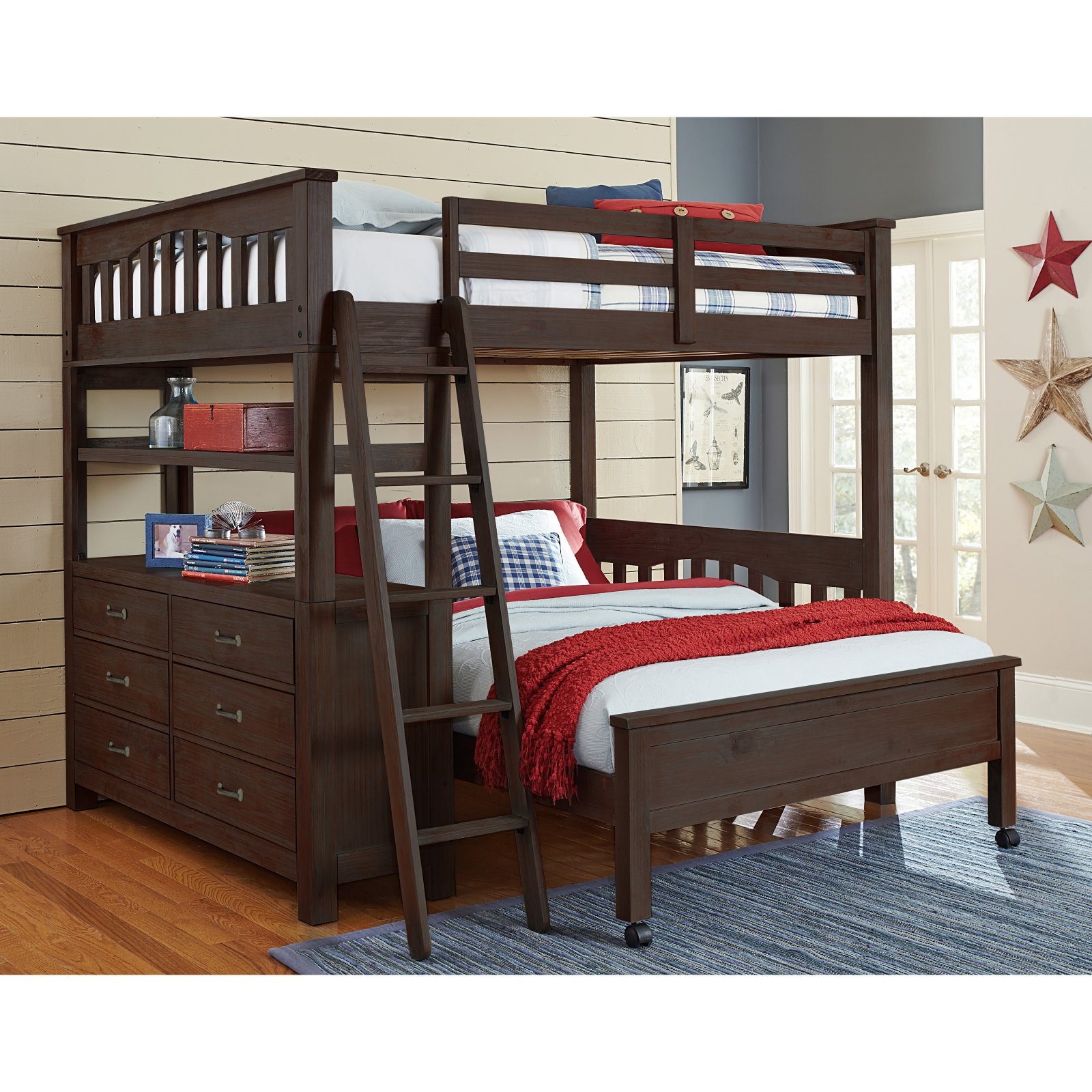 NE Kids Highlands Twin Loft Bed