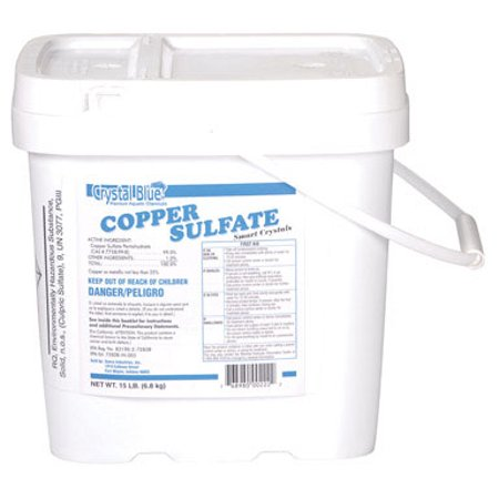 Copper Sulfate Algae (crystal blue copper sulfate smart crystals moss & algae killer )