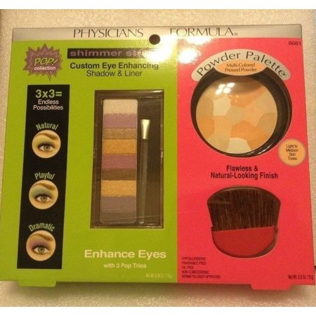 (Physicians Formula POP Collection Shimmer Strips & Powder Palette)
