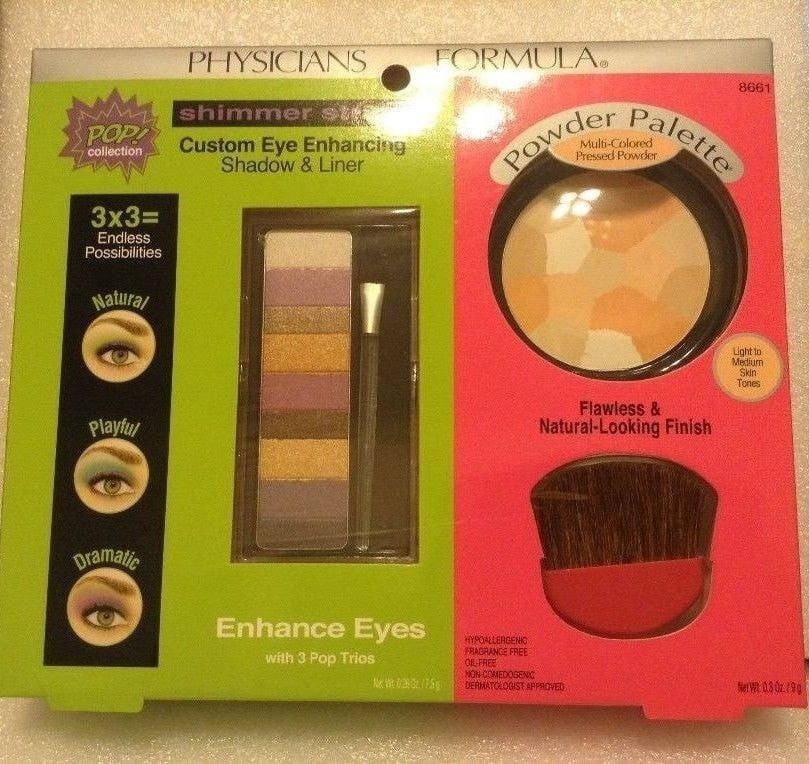 Physicians Formula POP Collection Shimmer Strips & Powder Palette