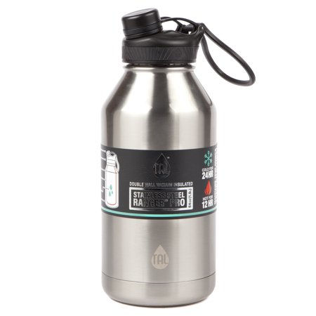 0796c5ca66 Tal 64 Ounce Double Wall Vacuum Insulated Stainless Steel Ranger Pro Water  Bottle