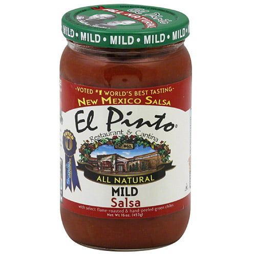 El Pinto All Natural Mild Salsa, 16 oz, (Pack of 6)