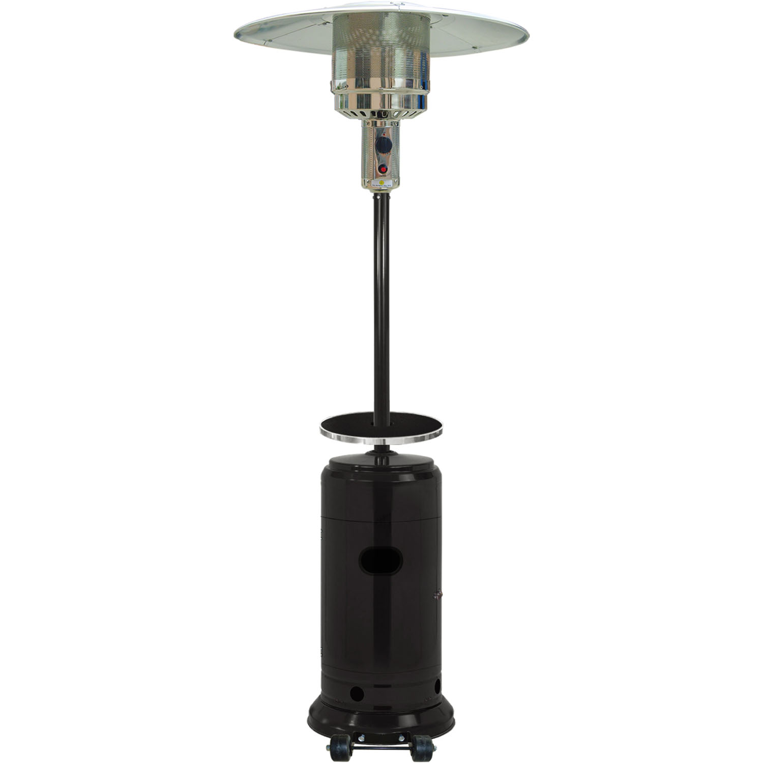 Hanover 7-Ft. 41,000 BTU Umbrella Patio Heater in Black by Hanover