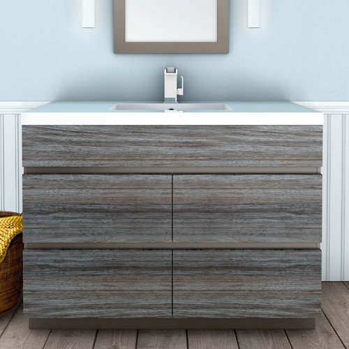 cutler kitchen & bath boardwalk 48'' single bathroom vanity set