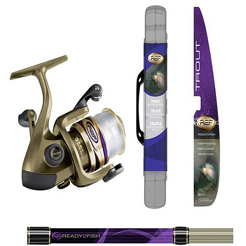 R2F Trout Spin Combo Med with Kit
