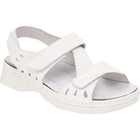 Propet - Propet Women s TROPICANA Strap White Sandals 12 XXW - Walmart.com ced22ca0bc72