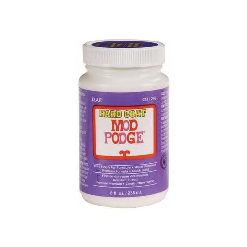 Mod Podge Hard Coat All-In-One Decoupage Sealer / Glue / Finish (8 fl. oz. )