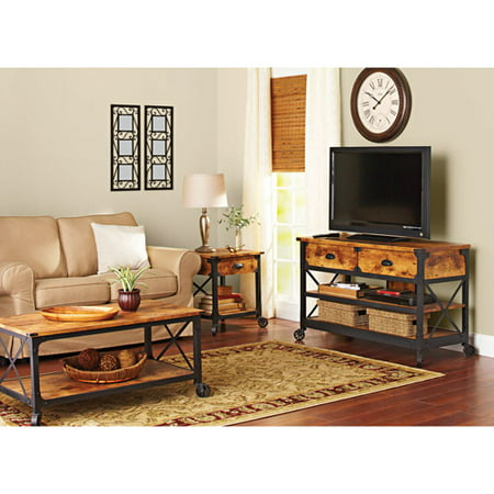 Better Homes and Gardens Rustic Country Living Room Set ...