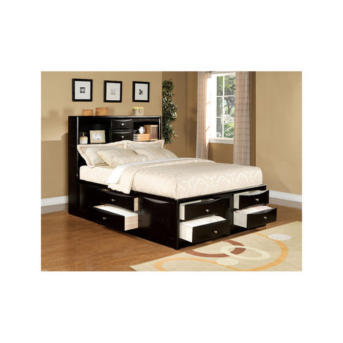 Wildon Home  Louis Philippe II  Storage Panel Bed