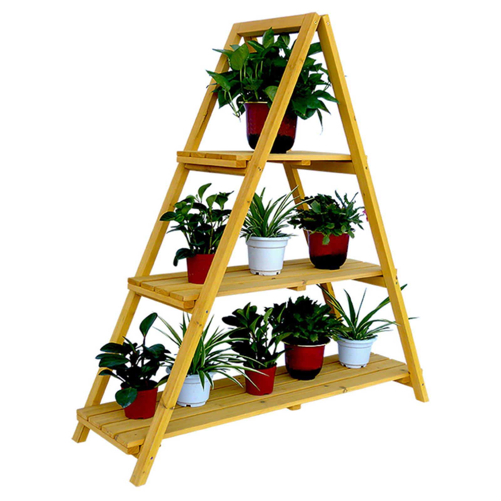 Leisure Season Ladder Plant Stand by Leisure Season