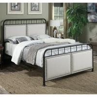 Home Meridian Lenox Upholstered Standard Queen Bed
