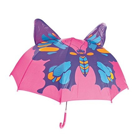 Kids Umbrella - Childrens 18 Inch Rainy Day Umbrella - Butterfly - image 1 of 1