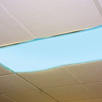 Educational Insights Fluorescent Ceiling Light Cover-Tranquil Blue, Set of 4
