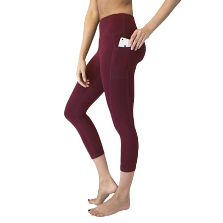 New Womens Slim Yoga Pants Trousers Leggings Stitching Pocket Activewear , Active Bottom High Waist Tights Sportswear Stretchy Quick Dry Jogging Running Activewear