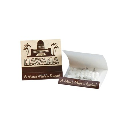 Cuban Party Matchbook Mints - Wedding Matchbooks