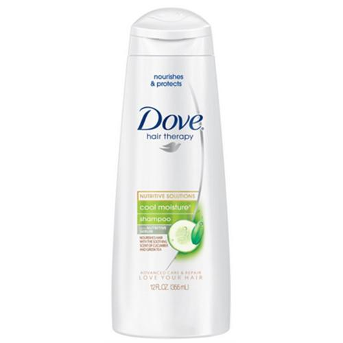 Dove Cool Moisture Shampoo, 12 fl oz