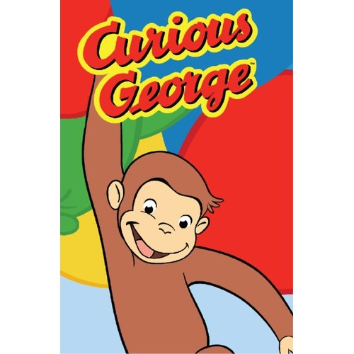 "Fun Rugs Curious George Happy George 19"" x 29"" Rug"
