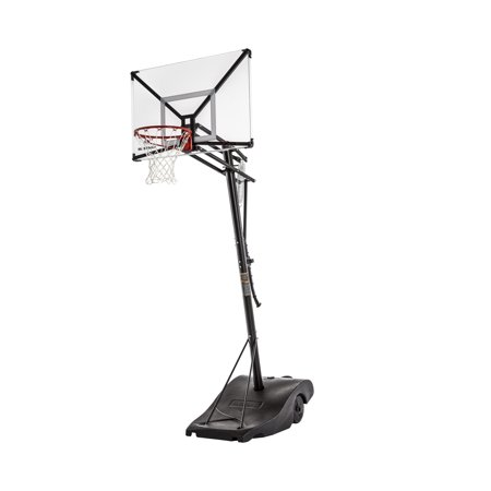 """Silverback NXT 50"""" Backboard Portable Height-Adjustable Basketball Hoop Assembles in 90 Minutes"""