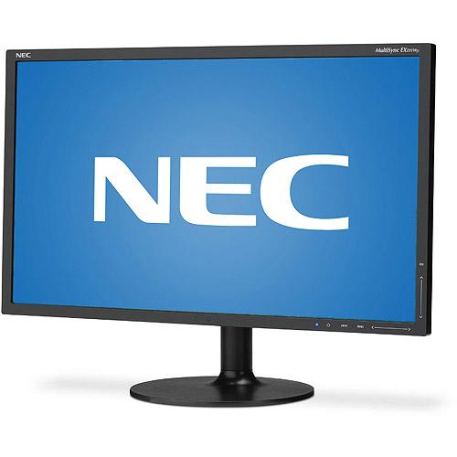 "NEC 23"" MultiSync LED Widescreen Monitor, (EX231WP-BK, Black)"