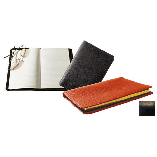 Raika RO 120 BLK Lined Journal with World Map - Black