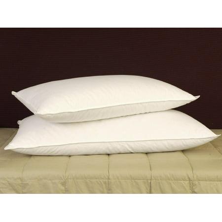 Pillowtex ® 50% White Goose Feather/ 50% White Goose Down Standard Size Pillow 50% Down 50% Feather