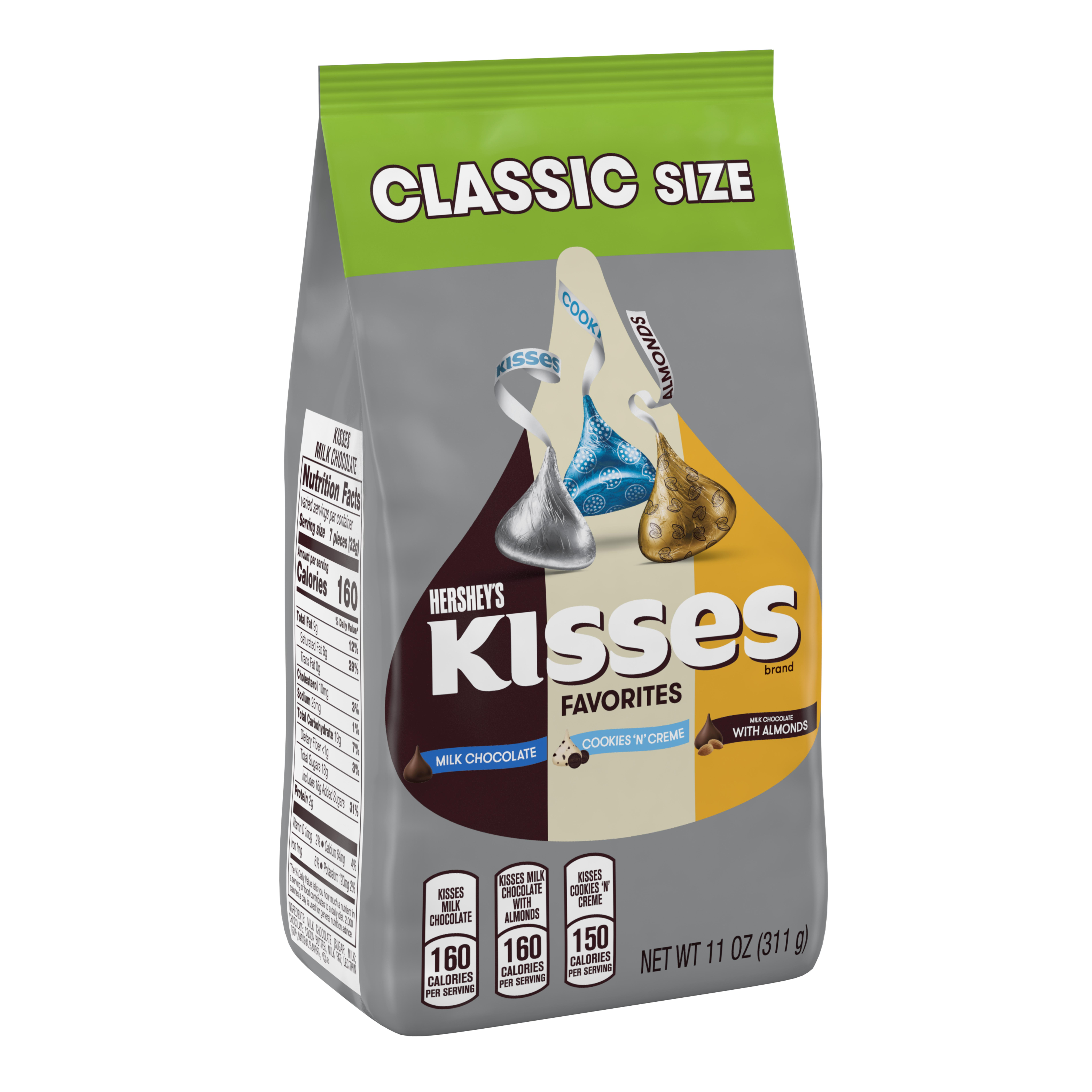 Hershey's Kisses Assortment Chocolate Candy, 11 Oz.