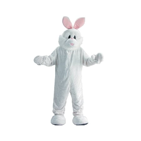 Rabbit Mascot Adult Halloween Costume - One - Rabbit Costume For Adults