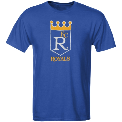 Kansas City Royals Youth Cooperstown T-Shirt - Royal Blue