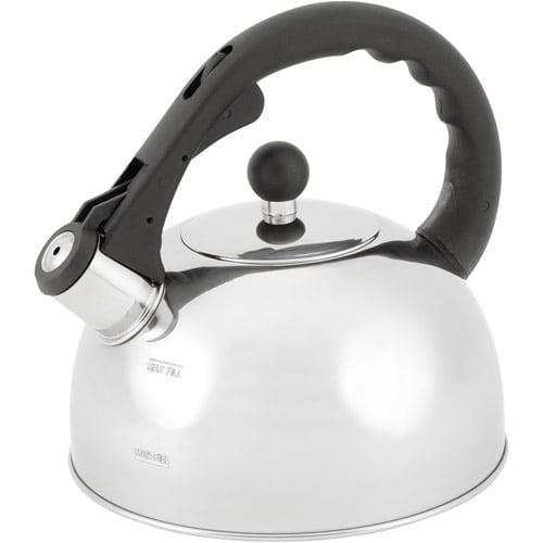 Mainstays 2.5 L Tea Kettle, Stainless Steel