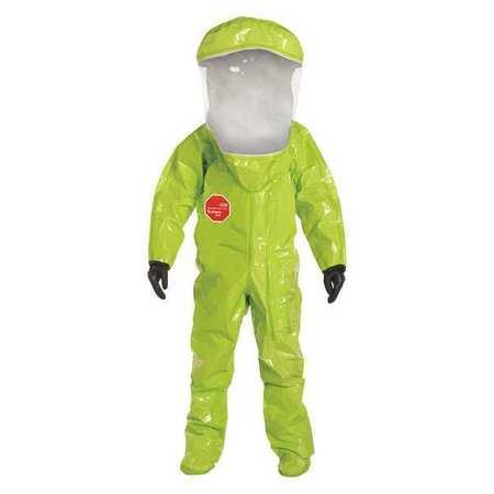 DUPONT Encapsulated Train Suit,Lvl A Train,XL TK586TLYXL000100