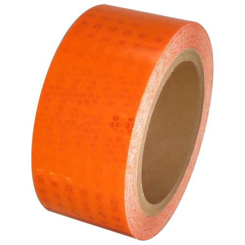 2 inch x 30 ft Orange Super Bright High Intensity Reflective Tape
