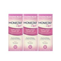 3 Pack Monistat Soothing Care Chafing Relief Powder-Gel, 1.5-Ounce Tube