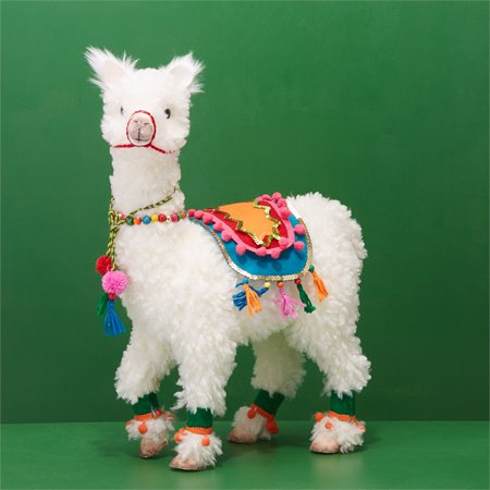 Two's Company Hand Crafted Llama Decor - Decor Craft Inc