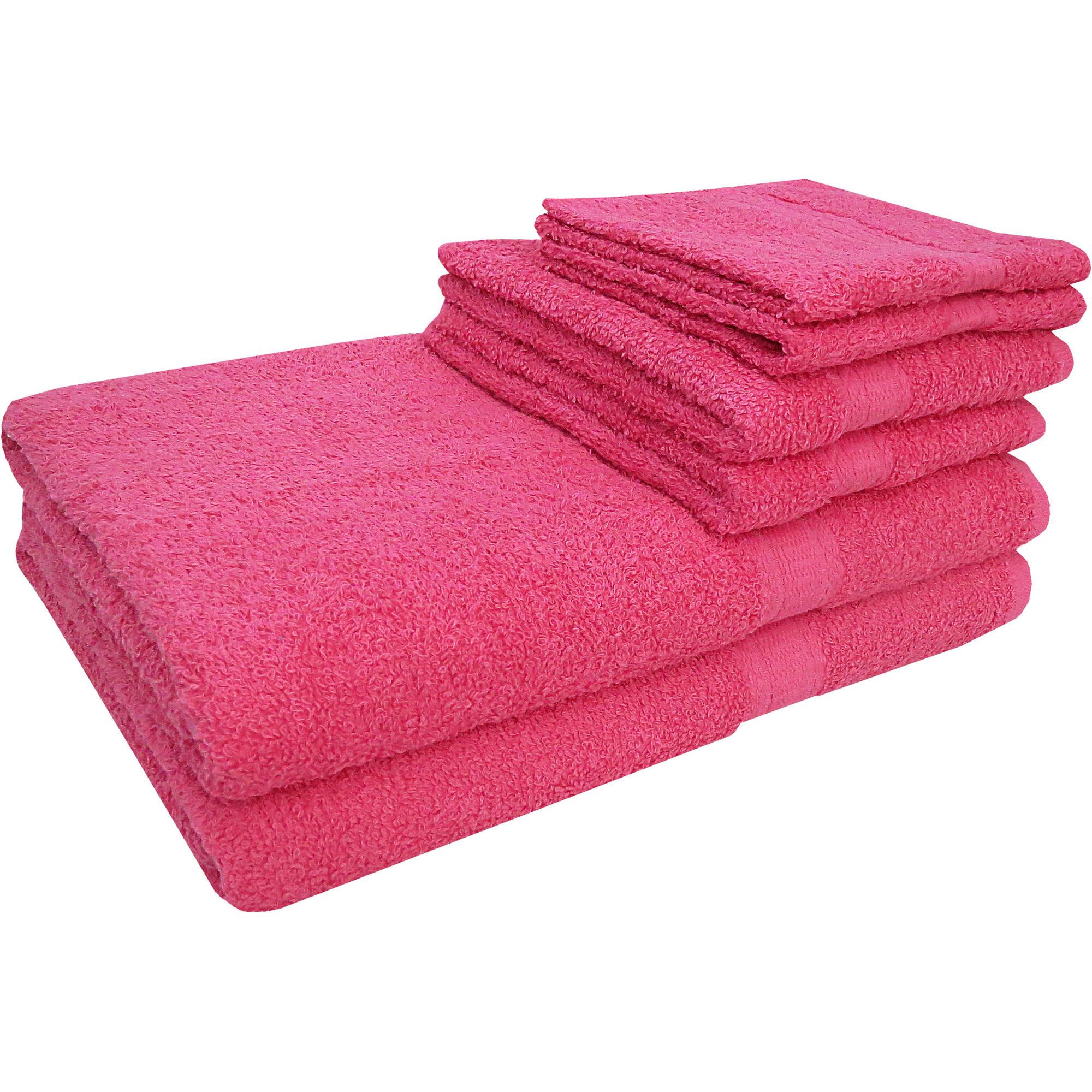 Mainstays Basic 6-Piece Towel Set by 1888 Mills LLC