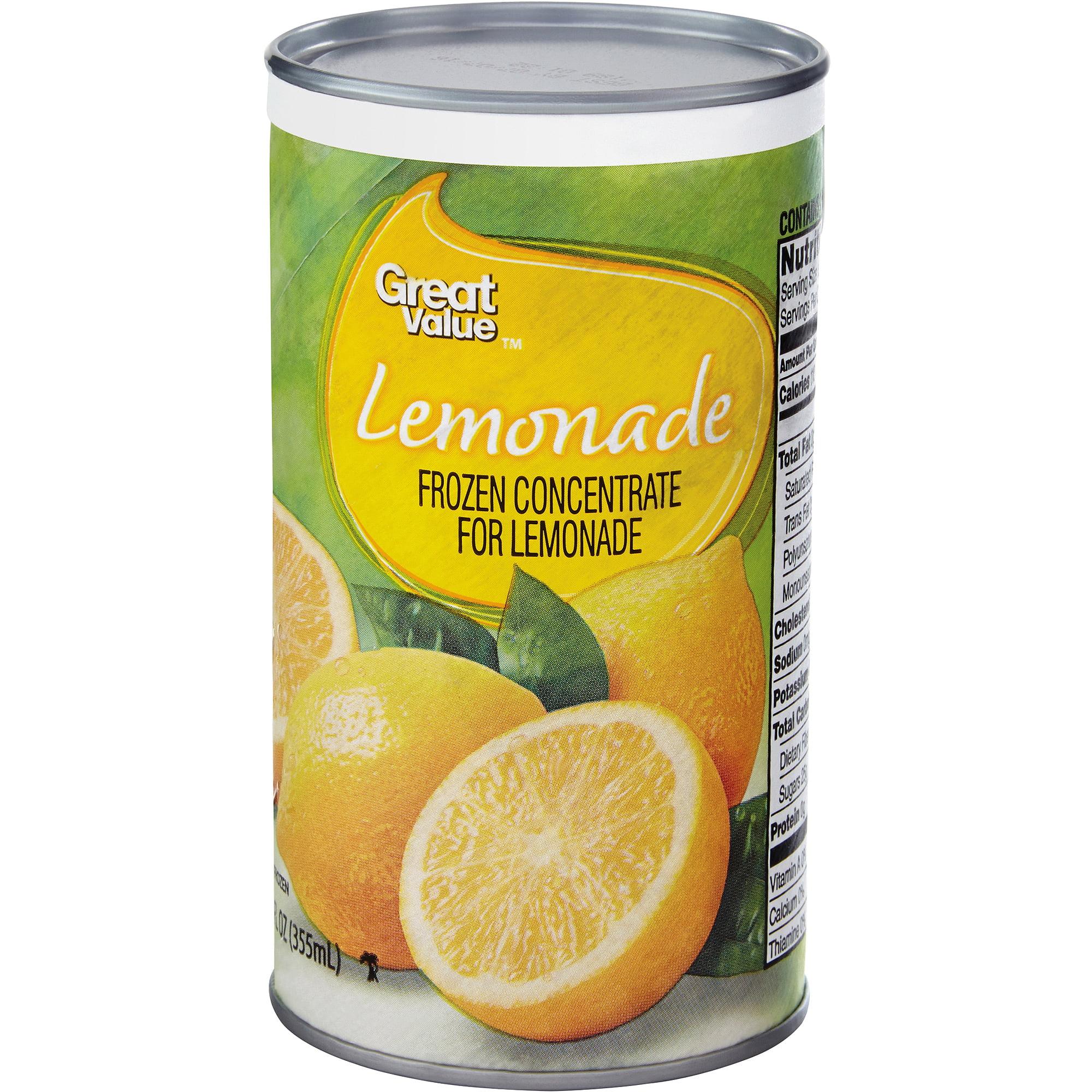 Great Value Lemonade, 12 oz