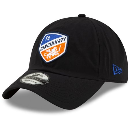 FC Cincinnati New Era Team Gore-Tex 9TWENTY Adjustable Hat - Black - OSFA Gore Tex Rain Hat