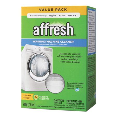 Affresh Washing Machine Cleaner, 5 Count Dissolving
