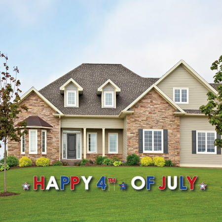 4th of July - Yard Sign Outdoor Lawn Decorations - Independence Day Party Yard Signs - Happy 4th Of July](July 4th Decorations)