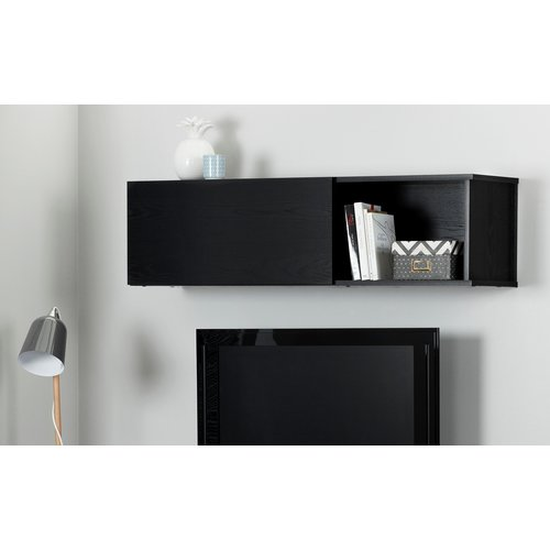 South Shore City Life Wall Mounted Storage Unit, Multiple Finishes