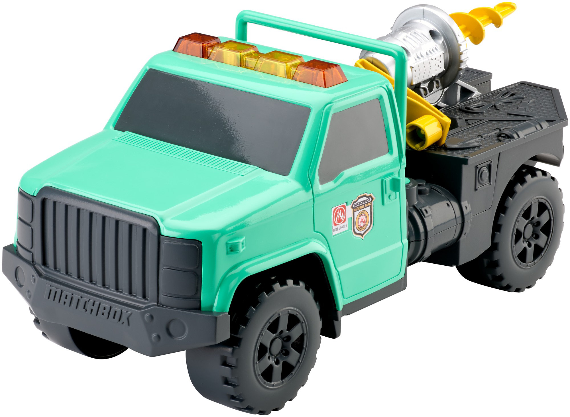 Matchbox Forest Utility Truck by Mattel
