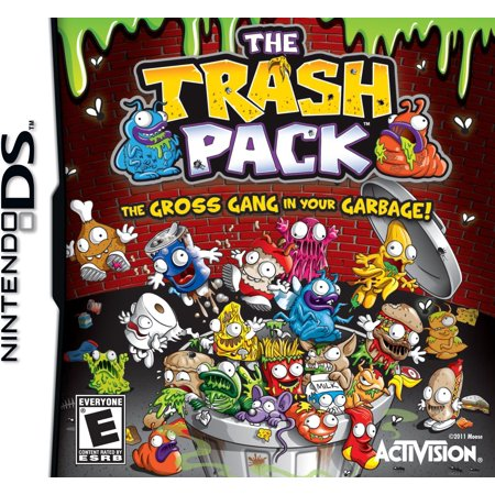 The Trash Pack (DS) (Adventure Game)
