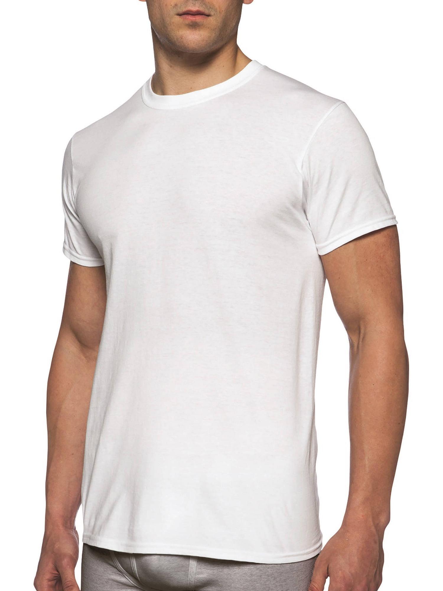a998826da04 Gildan Men's Short Sleeve Crew White T-Shirt, 6-Pack