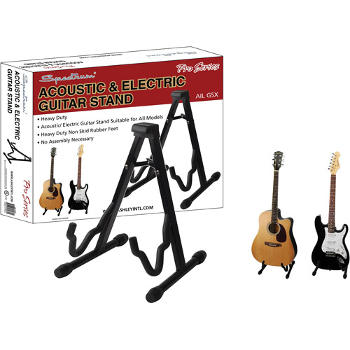 Spectrum Road Ready Sturdy Universal Guitar Stand