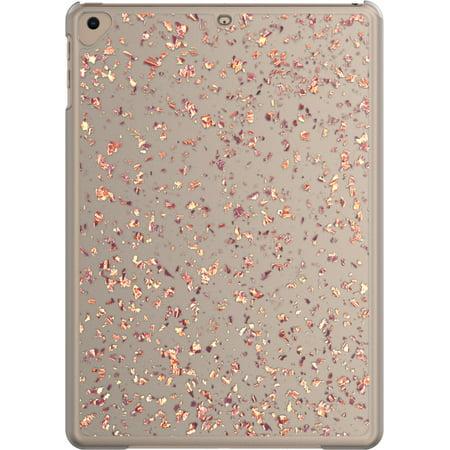 onn. Snap-on iPad Case For iPad 9.7-inch (6th gen/2018), 9.7-inch (5th gen/2017), iPad air, iPad air 2 & iPad Pro 9.7-inch, Rose Gold Flecks