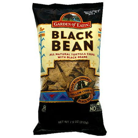 Garden Of Eatin' Black Bean Tortilla Chips, 7.5 oz (Pack of 12)