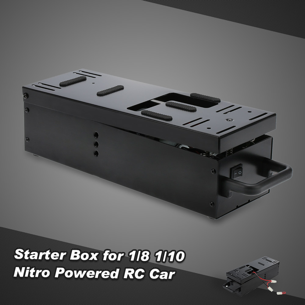 Starter Box With Dual-motor for 1/8 1/10 RC Nitro Car