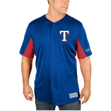 - MLB Texas Rangers Adrian Beltre Men's Short Sleeve Button Jersey