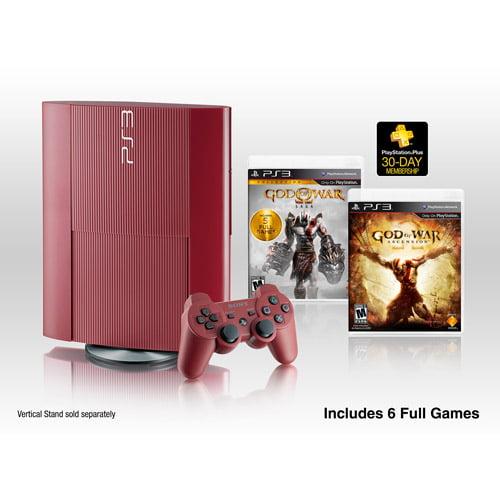 PlayStation 3 500GB God of War: Ascension Legacy Bundle