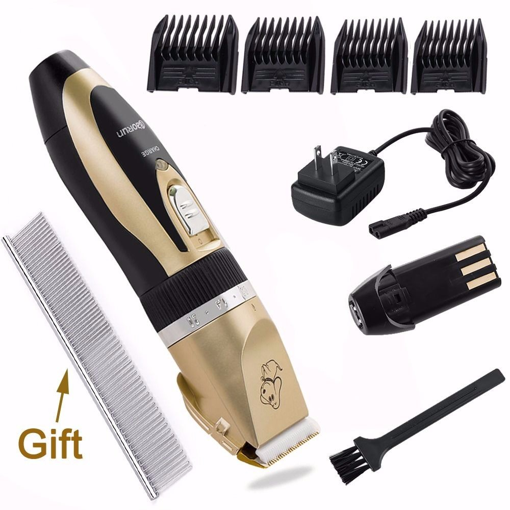 8 Pc Professional Pet Dog Cat Animal Hair Clippers Grooming Kit  Trimmer Shaver