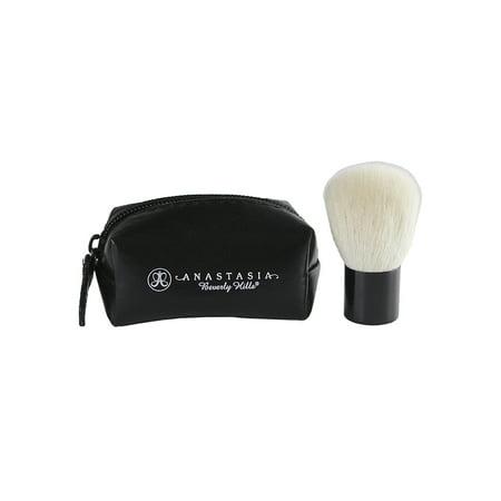 Anastasia Beverly Hills Kabuki Powder Face Brush & Bag - Travel - Beverly Hills Brush